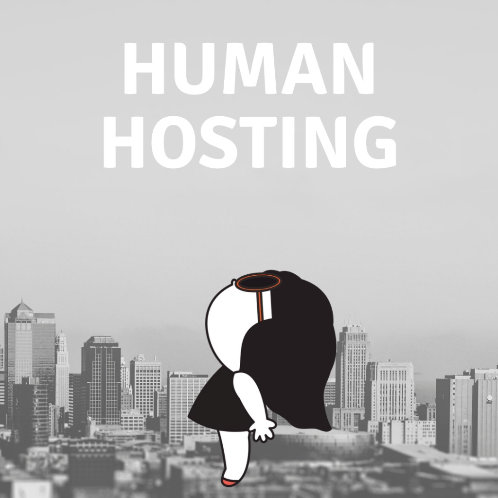 human hosting services