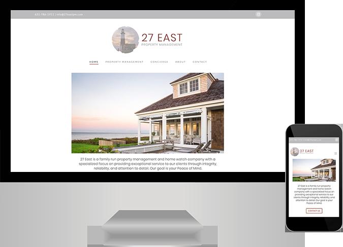 Hamptons Property Management website