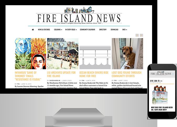 Fire Island website
