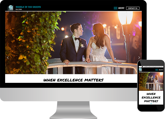 Long Island Web Design - Needle in the Groove