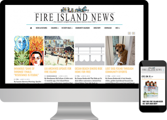 Fire Island News website