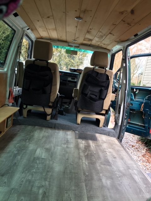 van view from back