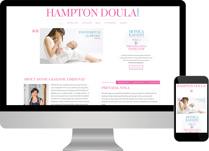 Hampton Doula website