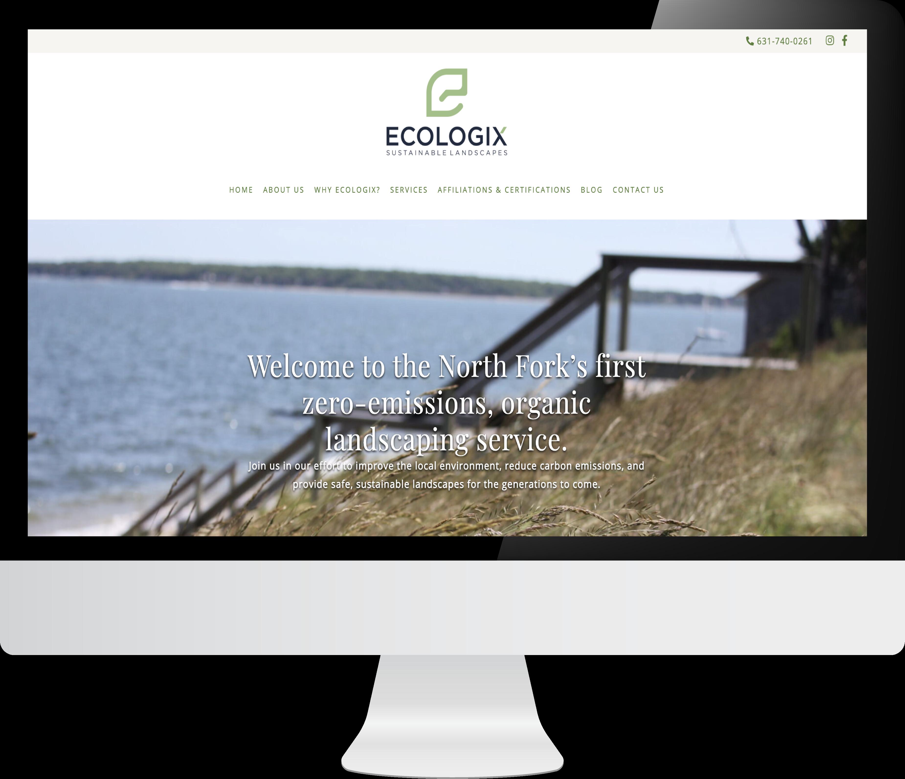 ecologix web design