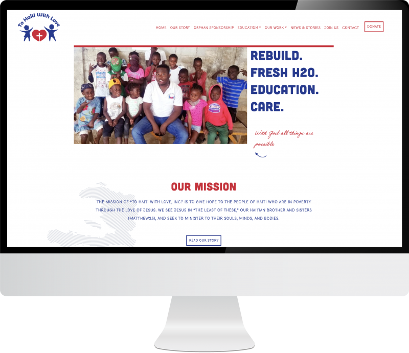 to haiti with love website